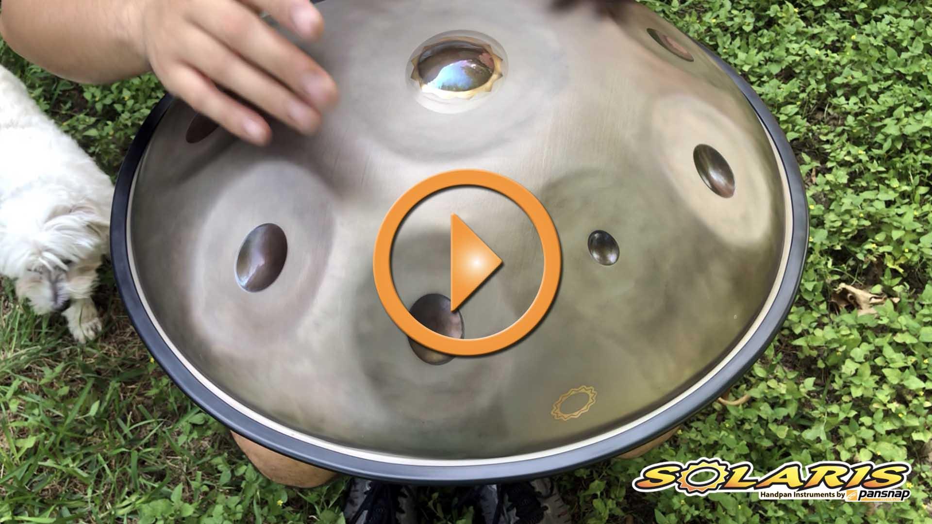 Solaris handpan Low Pygmy in F